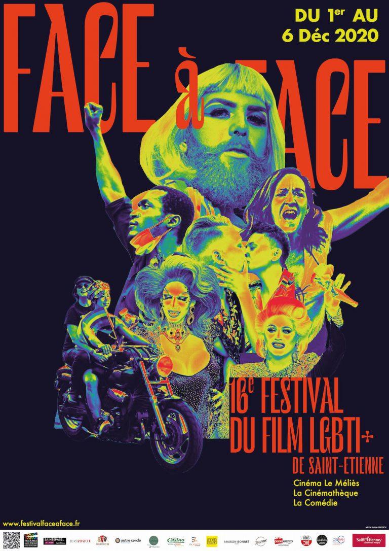 Affiche festival face à face 2020