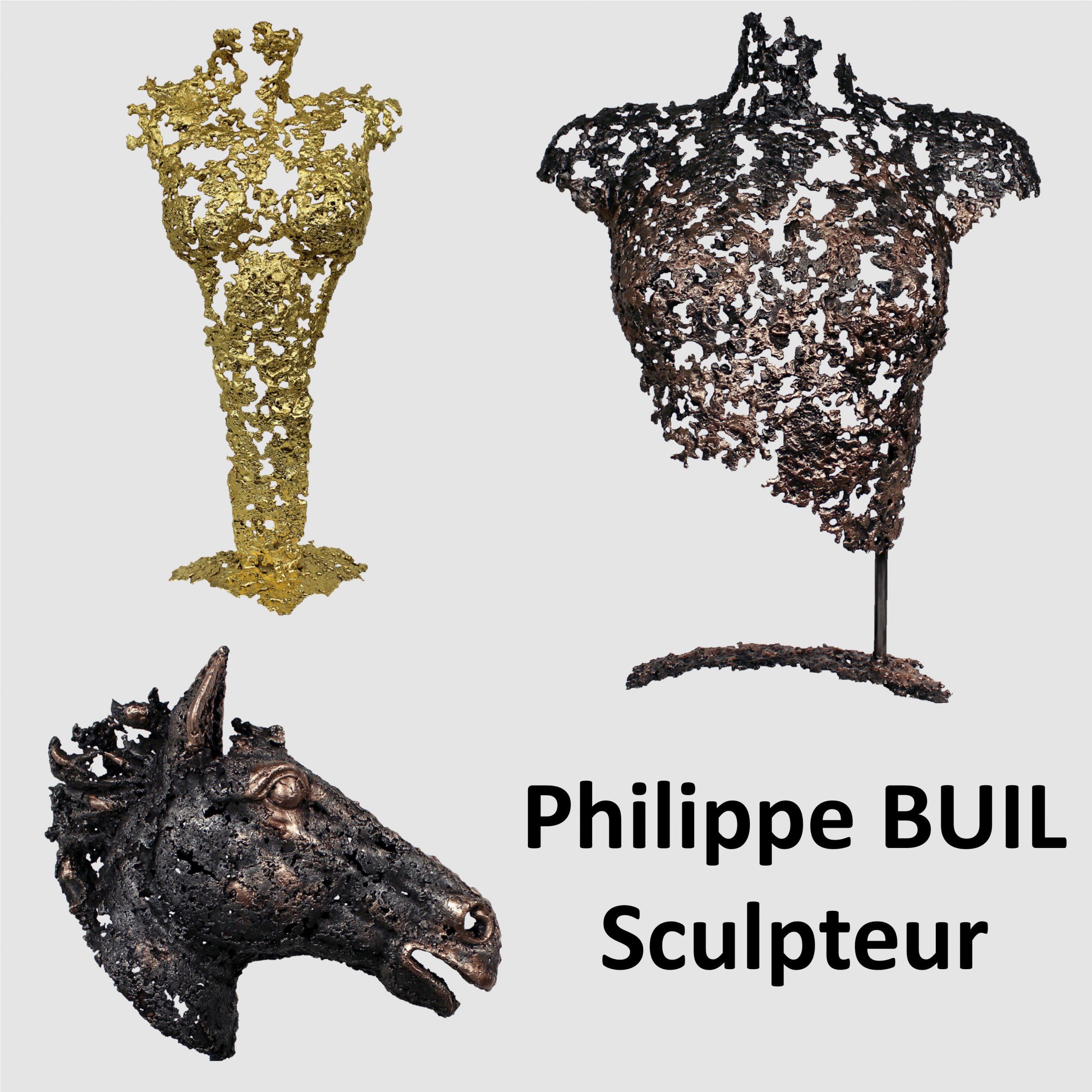 Logo Sculpteur Philippe Buil