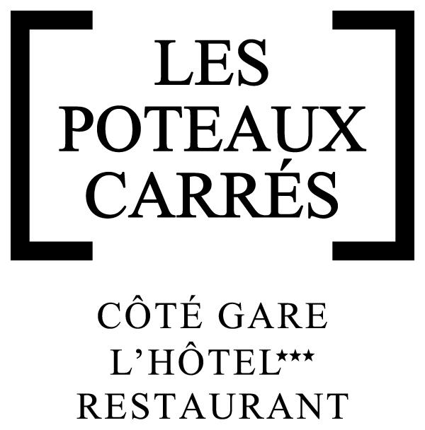 Logo Les Poteaux Carrés Coté Gare