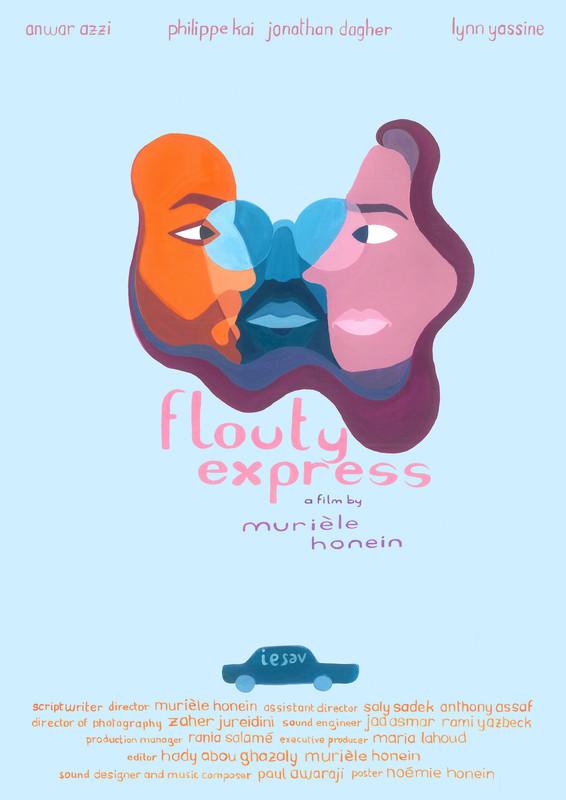 Affiche Flouty express