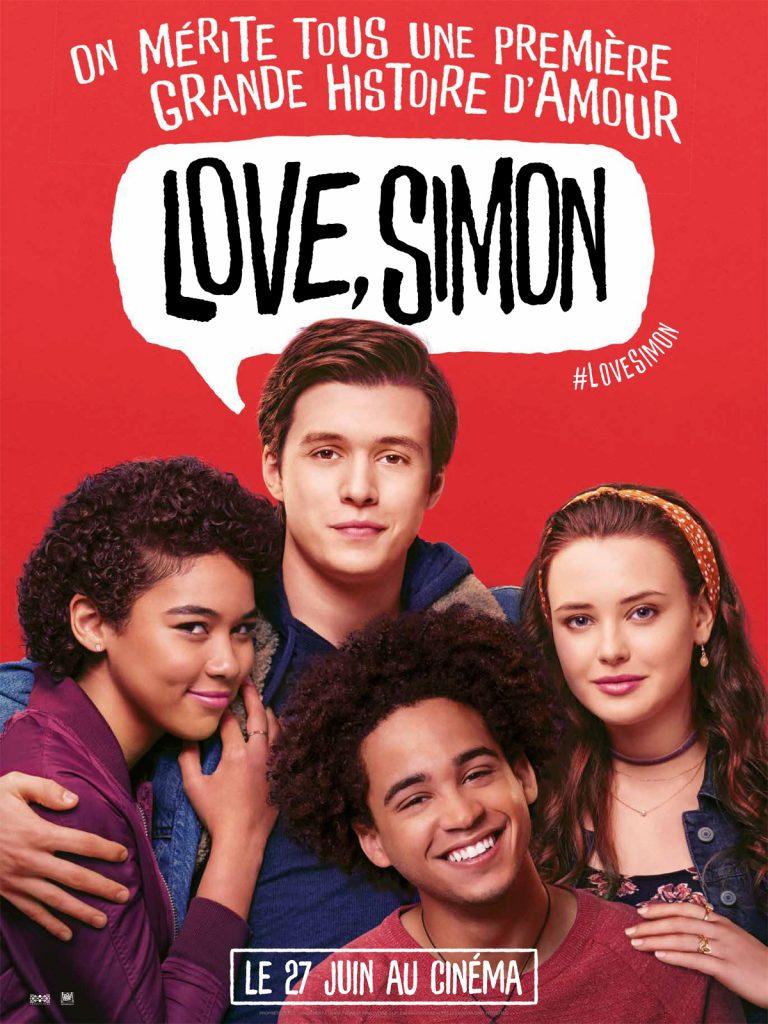 Affiche Love Simon 2018