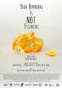Affiche Your Approval is Not Essential