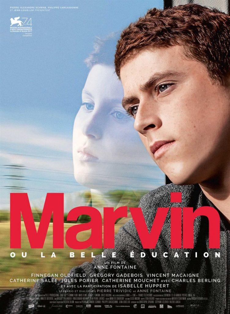 Affiche Marvin ou la belle éducation 2017