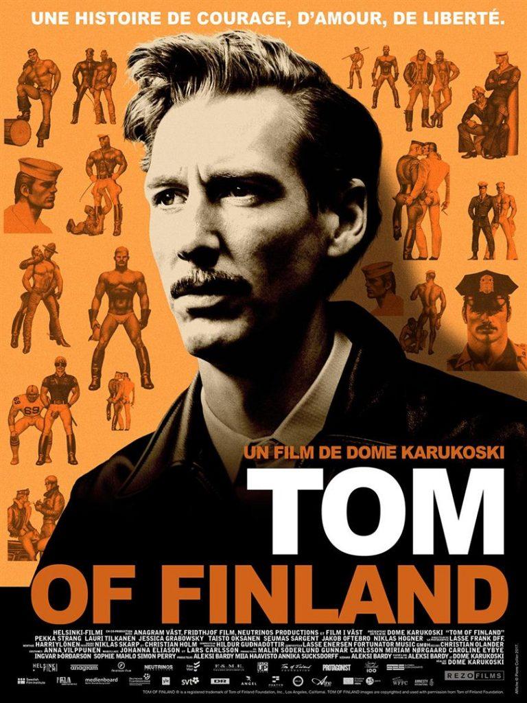 Affiche Tom of Finland 2017
