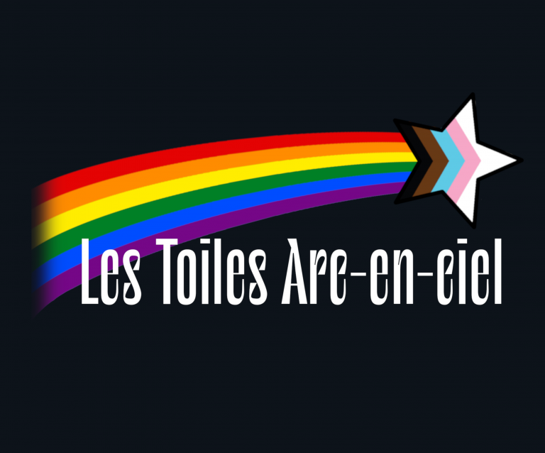 Logo Les toiles arc en ciel noir